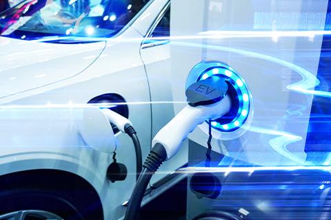 電子ブレーカー + 急速充電器