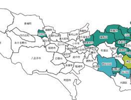 東京都地図 ESCO
